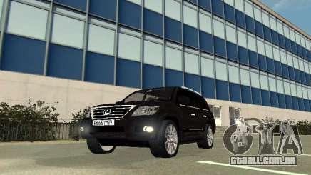 Lexus LX 570 2011 para GTA San Andreas