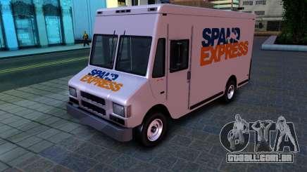 GTA IV Brute Boxville with SpandEx livery para GTA San Andreas