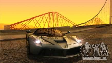 LaFerrari 2017 para GTA San Andreas