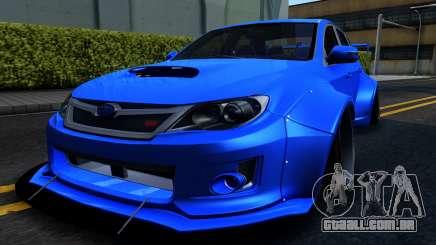 Subaru WRX STi Widebody para GTA San Andreas