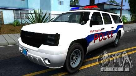 Declasse Granger Metropolitan Police 2012 para GTA San Andreas