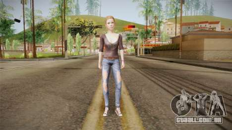 Life Is Strange - Dana Ward para GTA San Andreas