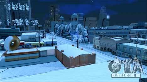 De inverno, mod para GTA San Andreas quinto tela