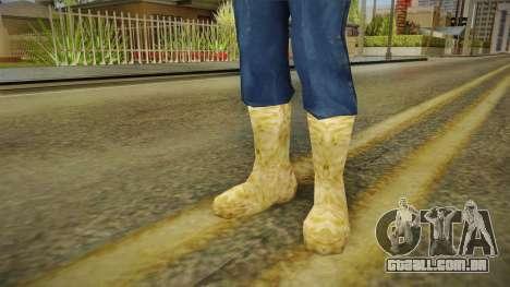 Botas de inverno para GTA San Andreas