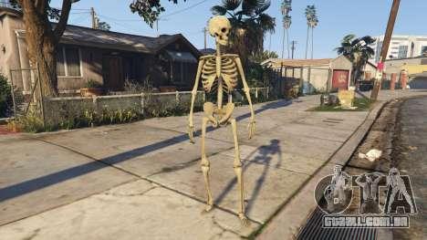 Skeleton 1.0 para GTA 5