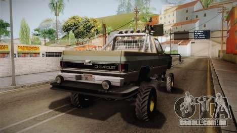 AntiZombies Pick Up para GTA San Andreas