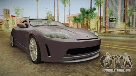 XLS650R para GTA San Andreas
