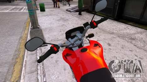 Honda CB750 (bagger) para GTA 4