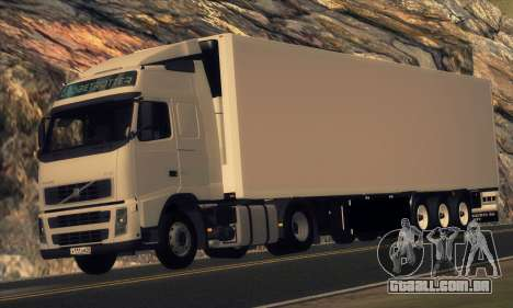 Semi-reboque KRONE para GTA San Andreas
