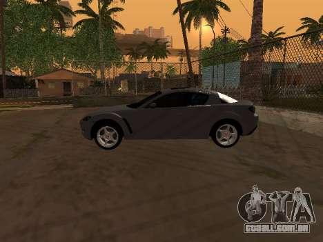 Mazda RX-8 para GTA San Andreas interior