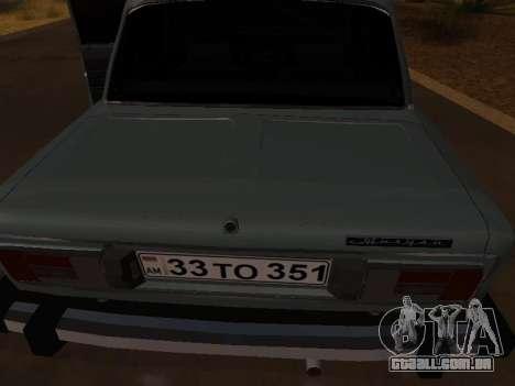 VAZ 2106 Armenian para GTA San Andreas