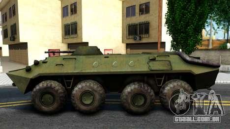 BTR-70 para GTA San Andreas