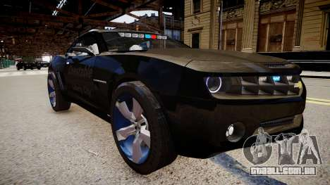 Chevrolet Camaro Concept Police para GTA 4