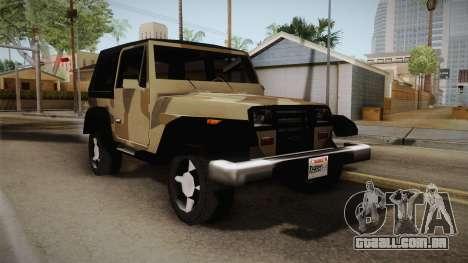 GTA 5 Crusader Mesa para GTA San Andreas