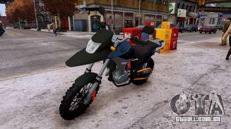 XRE 300 para GTA 4