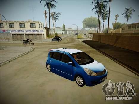 Nissan Note 2008-2009 para GTA San Andreas