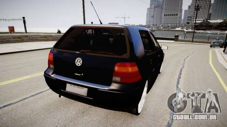 Volkwagen Golf Flash para GTA 4