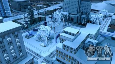 De inverno, mod para GTA San Andreas