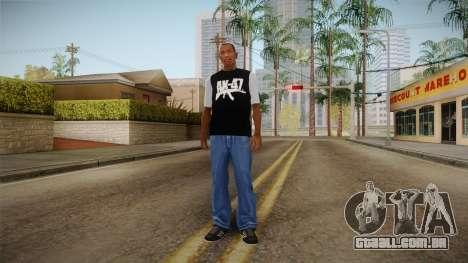 T-shirt AK47 para GTA San Andreas