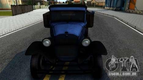 GAZ-MM 1940 FIV para GTA San Andreas