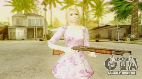 Dead Or Alive 5: LR - Marie Rose Casual Dress para GTA San Andreas