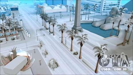 De inverno, mod para GTA San Andreas segunda tela