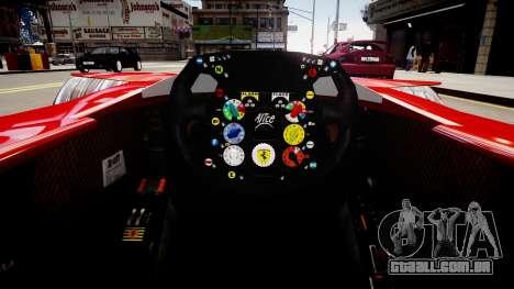 Formula 1 - LaFerrari F2007 para GTA 4
