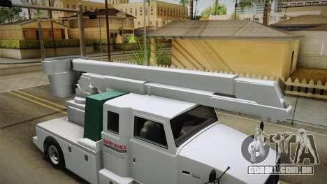 GTA 5 Brute Utility Truck para GTA San Andreas