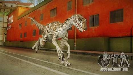 Primal Carnage Velociraptor Snake Skin para GTA San Andreas