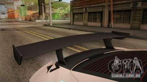 Lexus LFA Felix The Brown of ReZero para GTA San Andreas