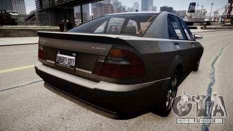 VAZ 2170 para GTA 4