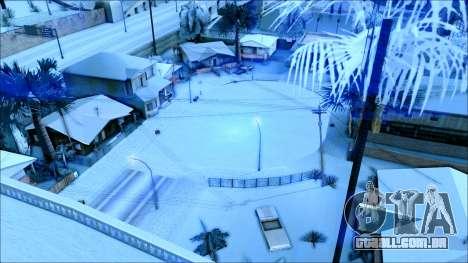 De inverno, mod para GTA San Andreas sétima tela