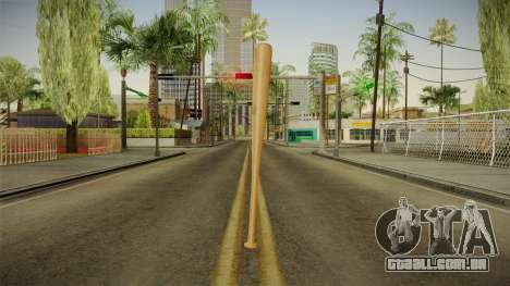 Wooden Bat para GTA San Andreas