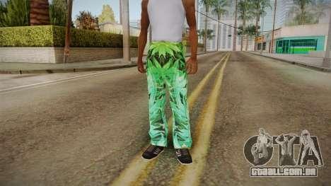 Meia-calça com o cânhamo para GTA San Andreas