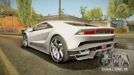 GTA 5 Pegassi Tempesta para GTA San Andreas