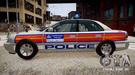 Met Police Vauxhall Omega para GTA 4