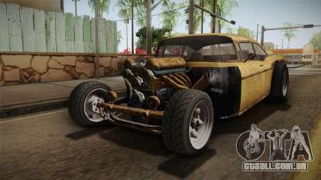 GTA 5 Declasse Tornado Rat Rod IVF para GTA San Andreas