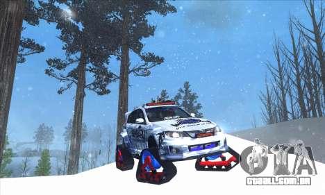 Subaru Impreza WRX STi Snow para GTA San Andreas