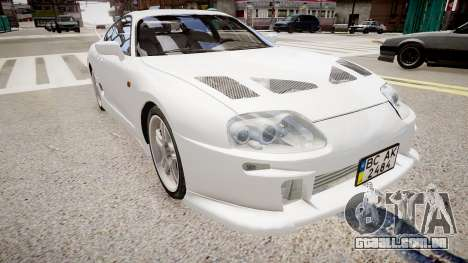 Toyota Supra MKIV 1995 para GTA 4