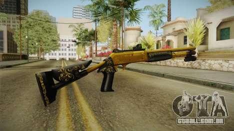 Killing Floor Combat Shotgun Gold para GTA San Andreas