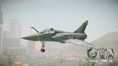 EMB Dassault Mirage 2000-C FAB para GTA San Andreas