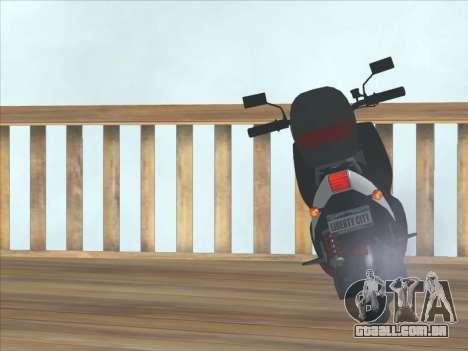 GTA IV Faggio Traveler para GTA San Andreas vista direita