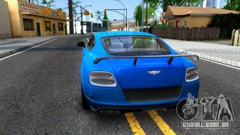 Bentley Continental GT3-R 2015 para GTA San Andreas