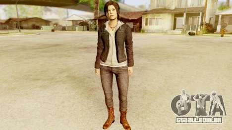 Rise of the Tomb Raider - Lara Leather Jacket para GTA San Andreas