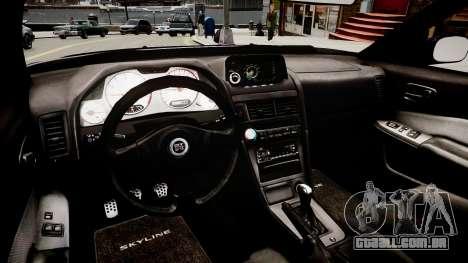 Nissan Skyline GT-R R34 para GTA 4