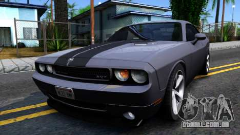 Dodge Challenger Unmarked 2010 para GTA San Andreas