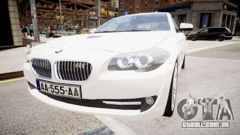 BMW Police Prefecture para GTA 4