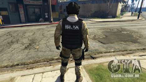 SIPA SWAT 1 para GTA 5