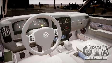 Nissan Navara Pickup Crew Cab para GTA 4