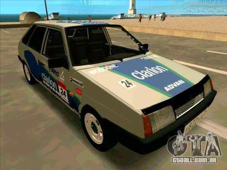VAZ-2109 RALLY PELE para GTA San Andreas